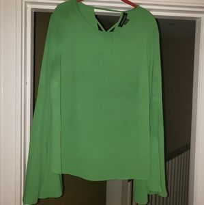Ashley Stewart flowing sleeve top sz 14/16